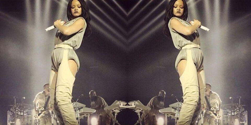 Rihanna's Anti Tour Boots Took Three Months To Make
