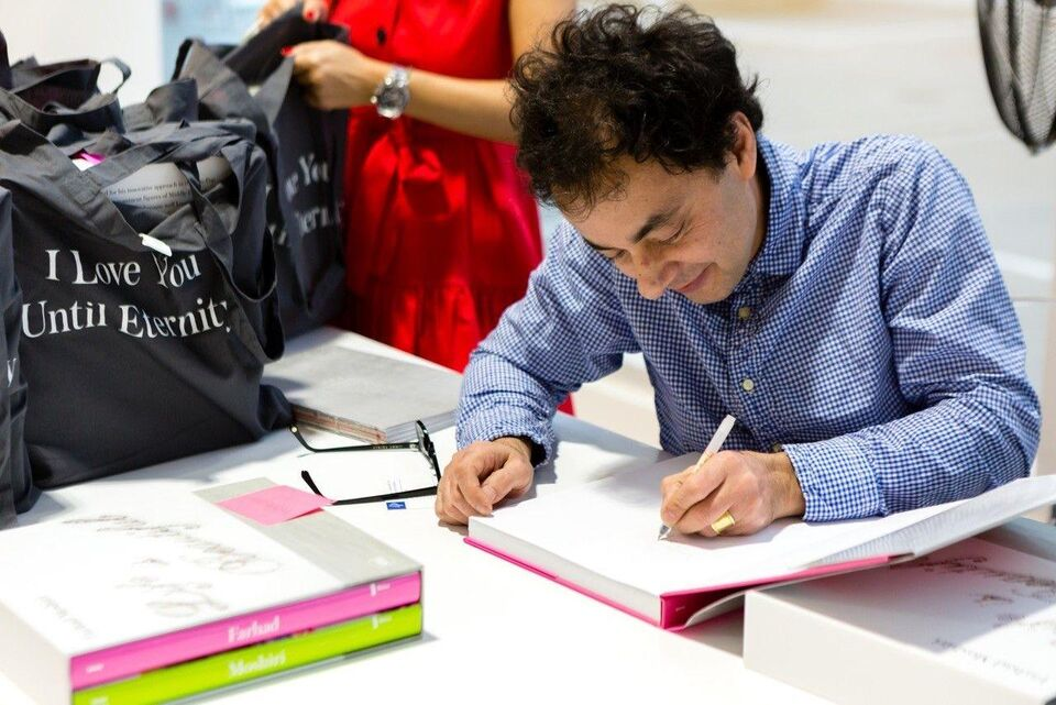 Life Is Beautiful: A Look At Farhad Moshiri's Book Launch And Exhibition