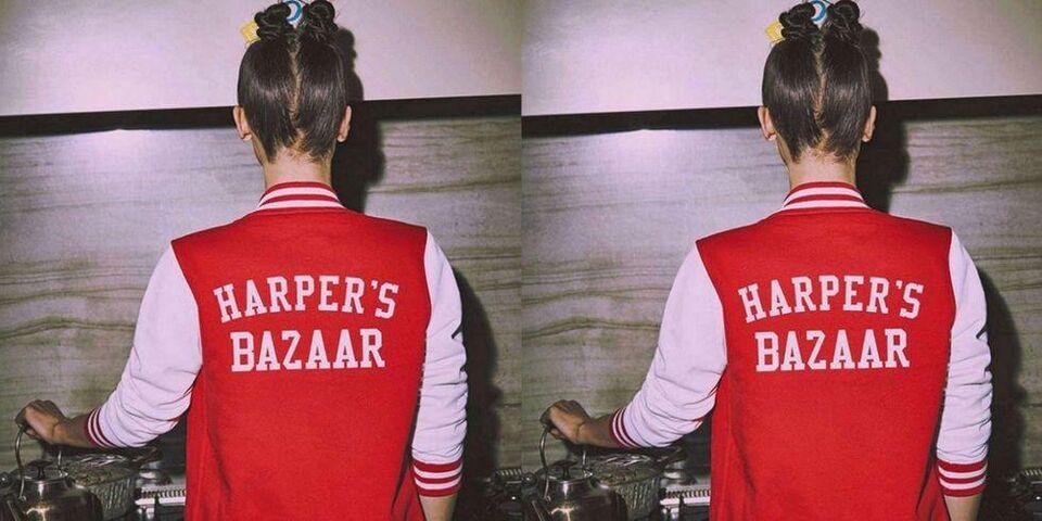 Bella Hadid Is On #TeamBazaar