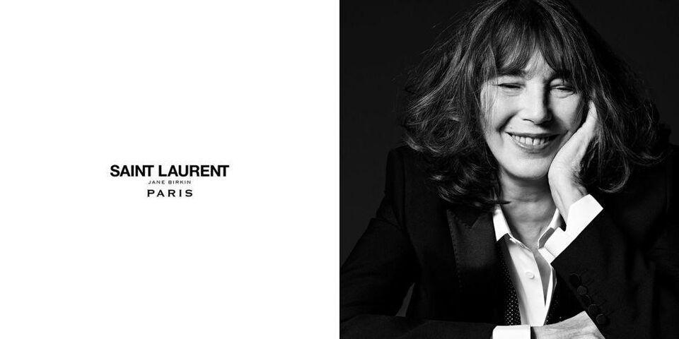 Jane Birkin For Saint Laurent