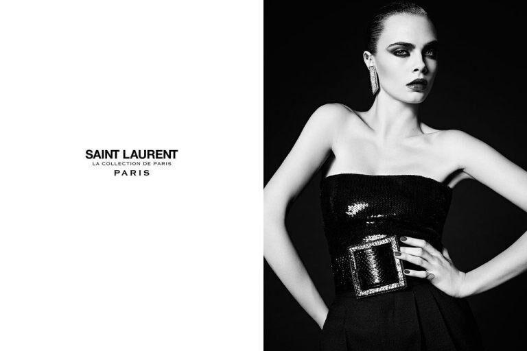 Cara Delevingne Stars In Saint Laurent's New Campaign
