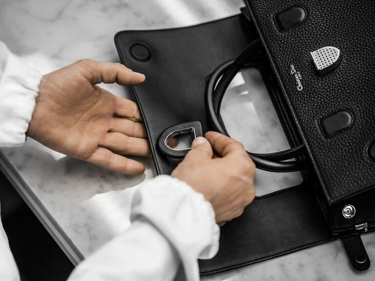 Watch Now: The Making Of Dior's New Handbag