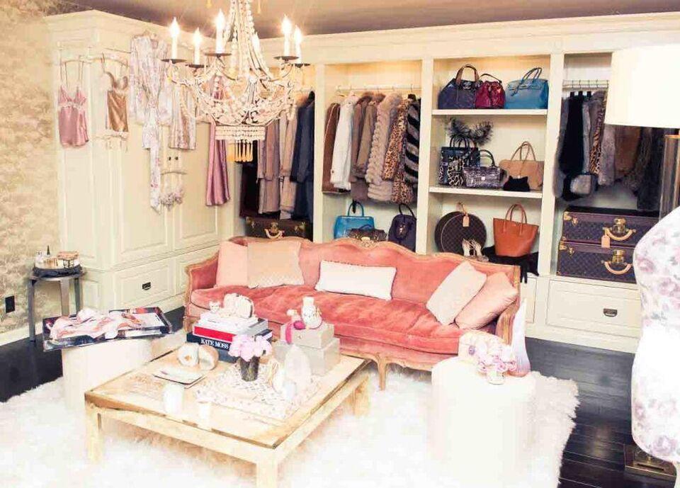 Inside Rosie Huntington-Whiteley's Wardrobe