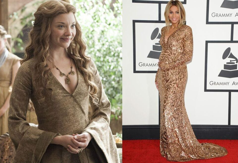 """12 Times Celebrities Channeled """"Game Of Thrones""""' Style"""