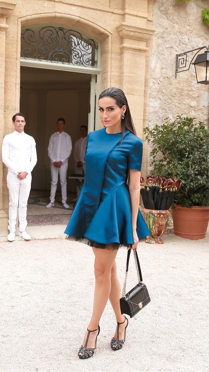 Christian Dior Celebrates The Re-Opening Of Château de La Colle Noire