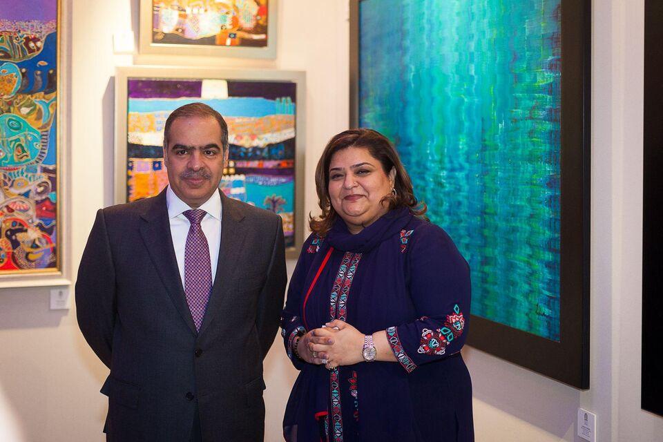 Bahrain Art Across Borders Opens In London
