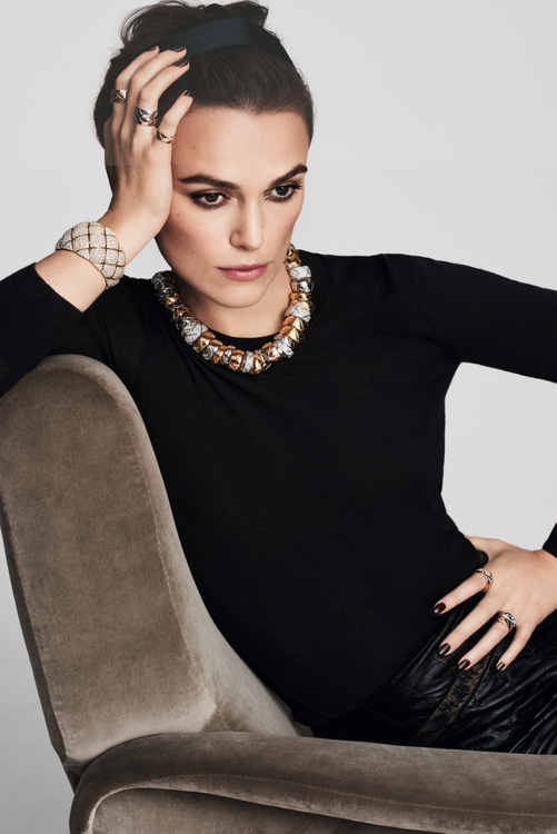 Keira Knightley Is Announced As The New Face Of Chanel Fine Jewellery