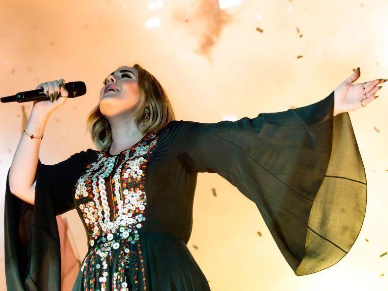 Adele's Glastonbury Dress Took 200 Hours To Make