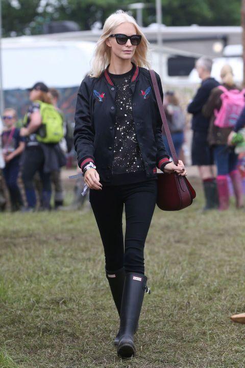 Celebrity Style At Glastonbury 2016