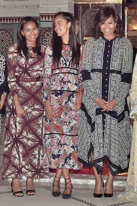 Michelle Obama Rocks Altuzarra In Morocco