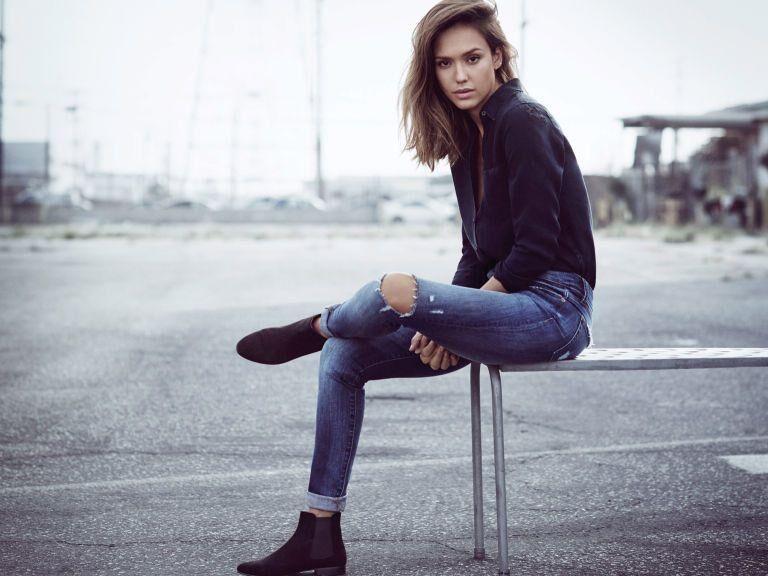 Jean Jeanie: Jessica Alba's First Foray Into Fashion Design