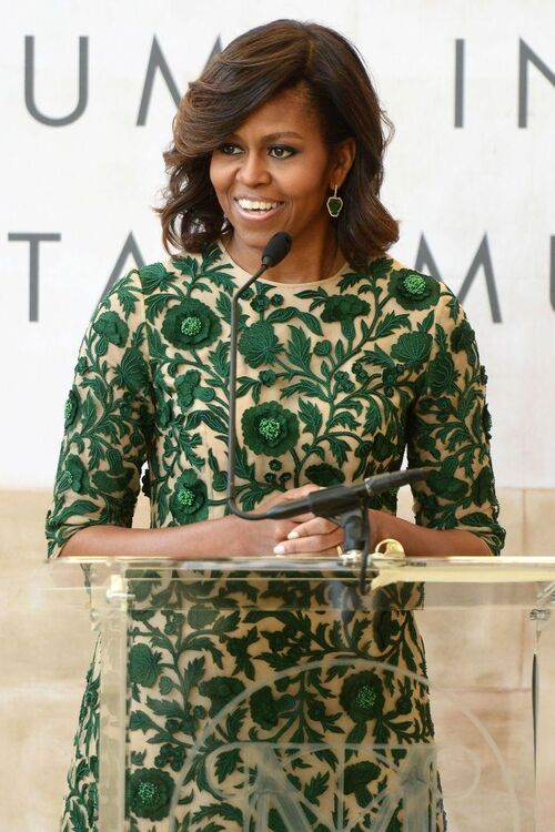 "Girl Power: Michelle Obama says ""Tell your daughters it's okay to be bossy"""