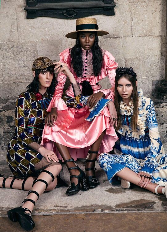 Exclusive: Gucci Cruise 2016/17