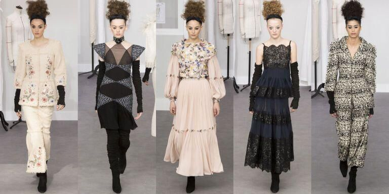Karl Lagerfeld Takes Chanel Couture Back To The Atelier