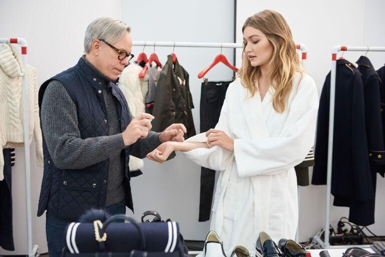 Behind The Scenes Of Tommy Hilfiger and Gigi Hadid's New Fragrance