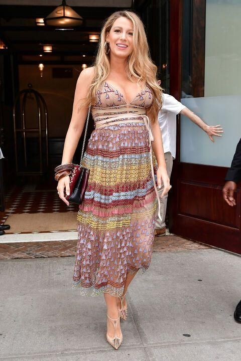 Blake Lively's Major Maternity Style