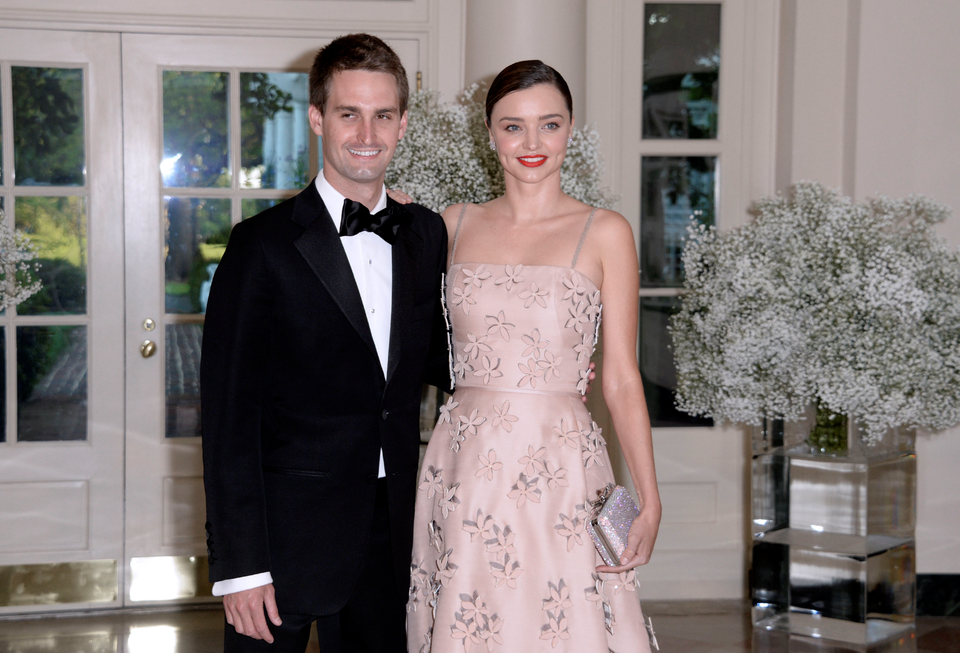 Miranda Kerr Is Engaged To Snapchat Founder Evan Spiegel