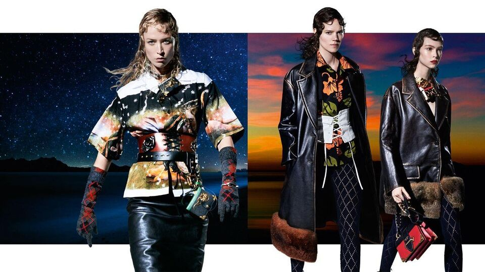 Prada's A/W16 Campaign Features 27 Models