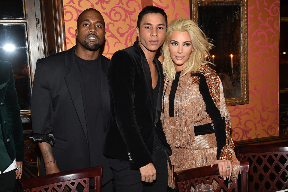 Kanye West Stars In New Balmain Campaign