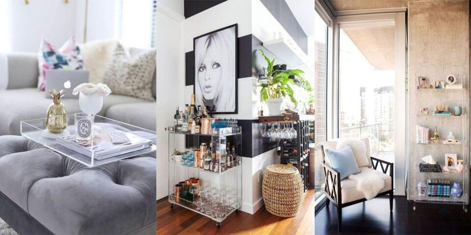 10 Reasons to Add Lucite Into Your Home Décor