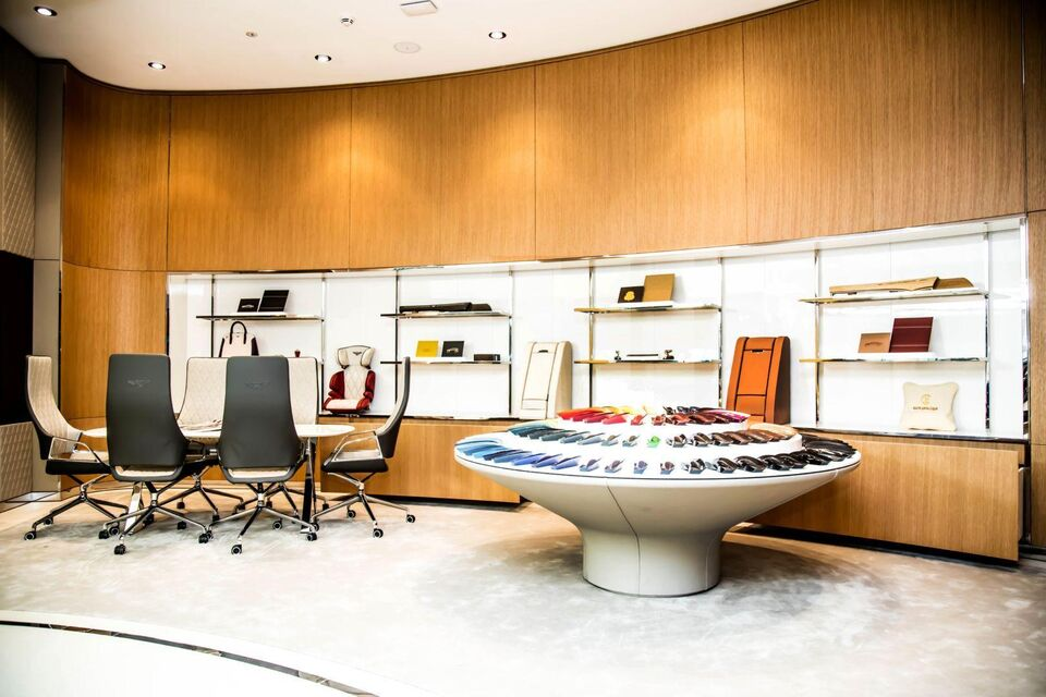 Bentley Unveils Iconic Design of Global Flagship Showroom