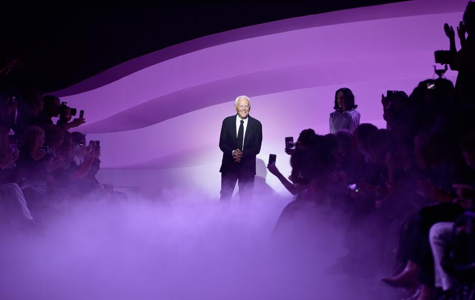 Giorgio Armani Will Not Close Milan Fashion Week This Season