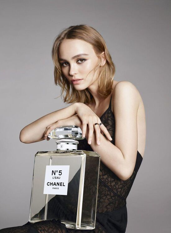 Watch Now: Lily-Rose Depp In The New Chanel No 5 L'Eau Campaign