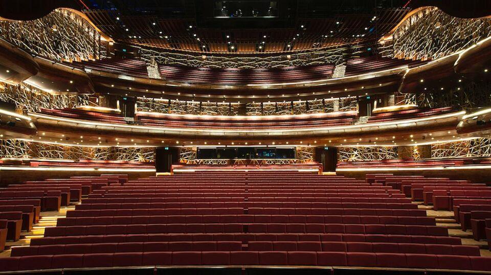 First Look: Inside Dubai Opera
