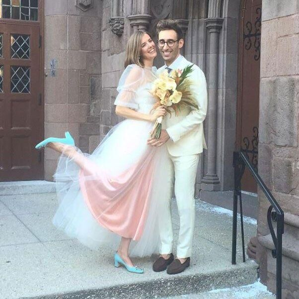 Inside Model Agyness Deyn's Wedding