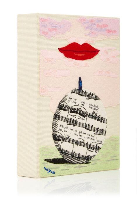 Moda Operandi Debuts Olympia Le-Tan X Magritte Collection