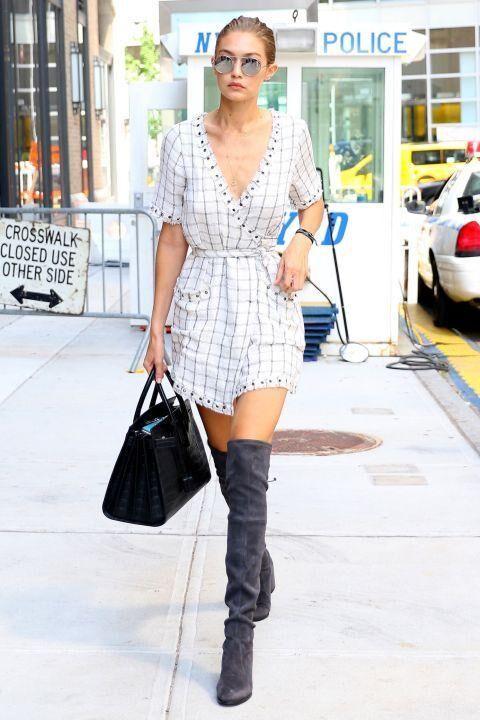 Gigi Hadid's Bombshell Street Style