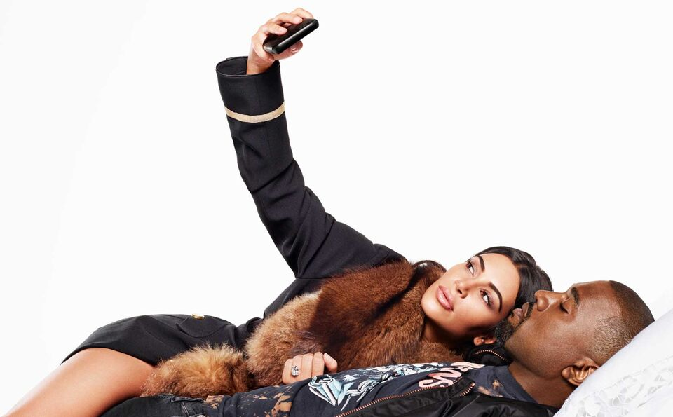 Watch Now: Behind-The-Scenes On Our September Cover Shoot With Kim & Kanye