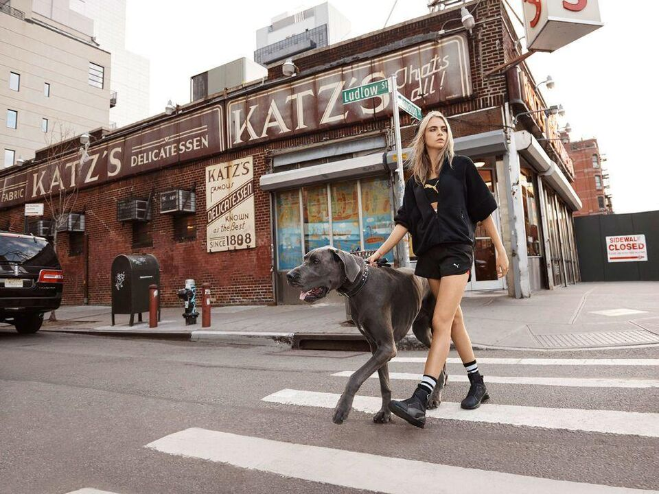 Cara Delevingne Is The New Face Of Puma
