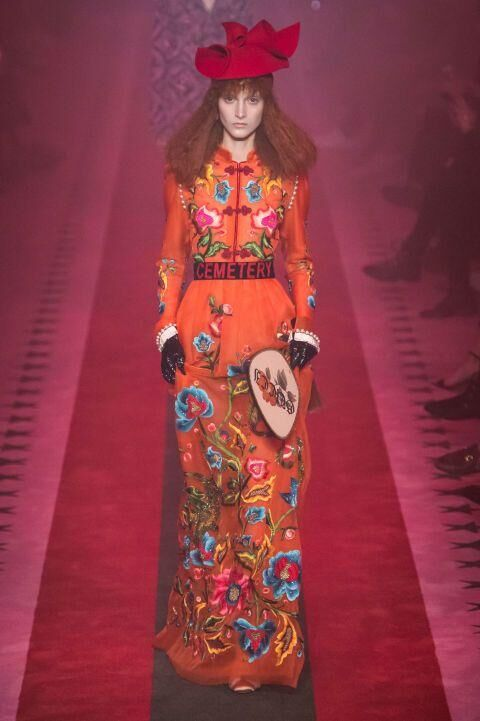 Every Single Amazing Look From Gucci's S/S17 Presentation