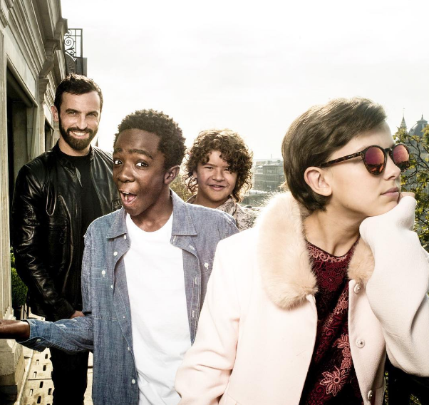The Cast Of 'Stranger Things' Go On A Louis Vuitton Field Trip With Nicolas Ghesquière