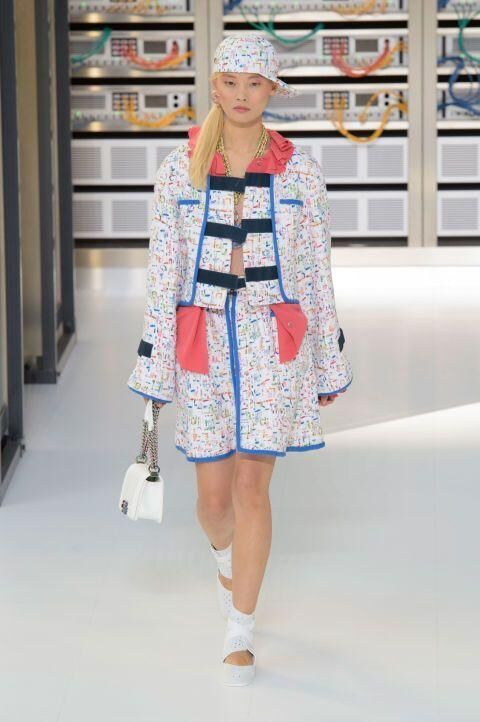 All Of The Incredible Look From Chanel's Spring/Summer 2017 Catwalk Show