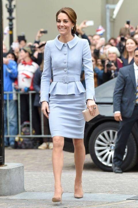 The Duchess Of Cambridge Channels Jackie O