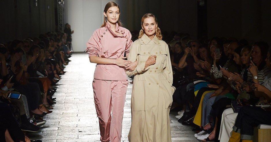 Lauren Hutton And Gigi Hadid's Iconic Bottega Veneta Walk Wasn't Planned