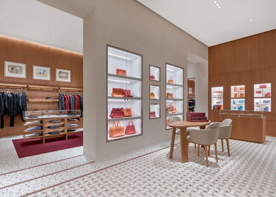 Hermès Opens New Store In Dubai's Mall Of The Emirates