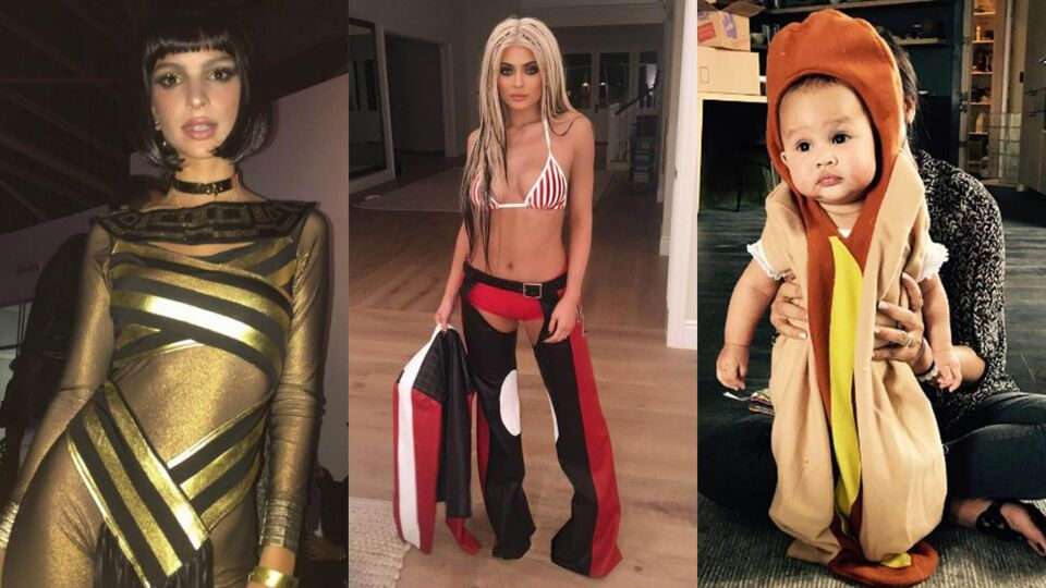 The Best Celebrity Halloween Outfits Of 2016 So Far...