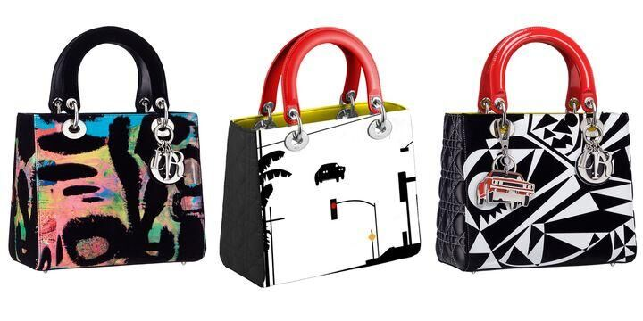 Dior To Release An Exclusive Collection Of #LadyDiorArt Bags