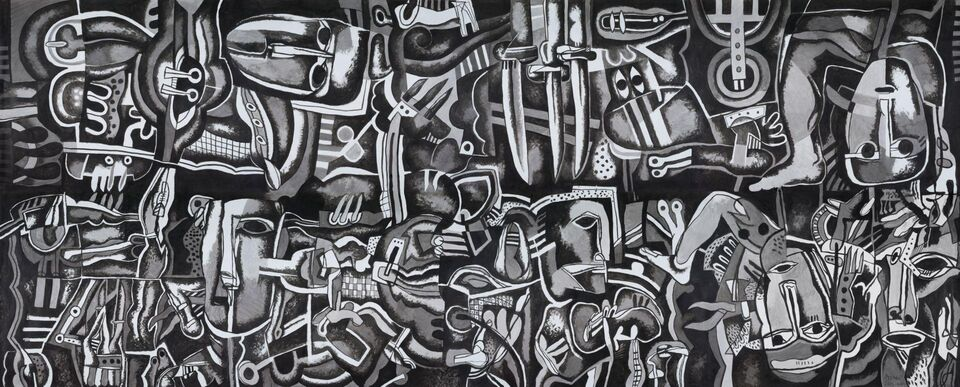 Meem Gallery Presents Dia Azzawi: My Broken Dream