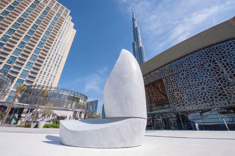 Dubai Opera Unveils Highly Anticipated Sculpture
