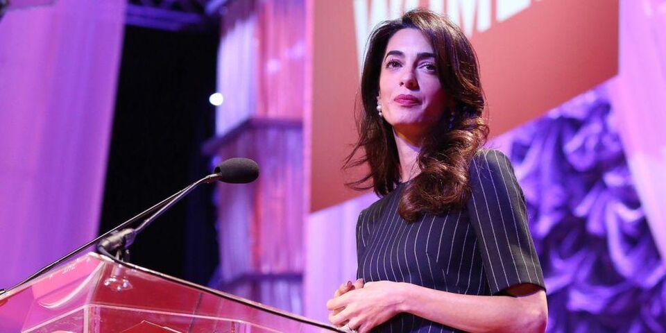 Amal Clooney's Warning To Donald Trump