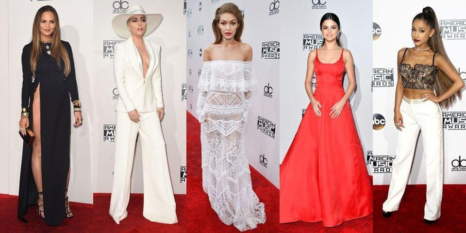 The 15 Best Looks From The 2016 American Music Awards