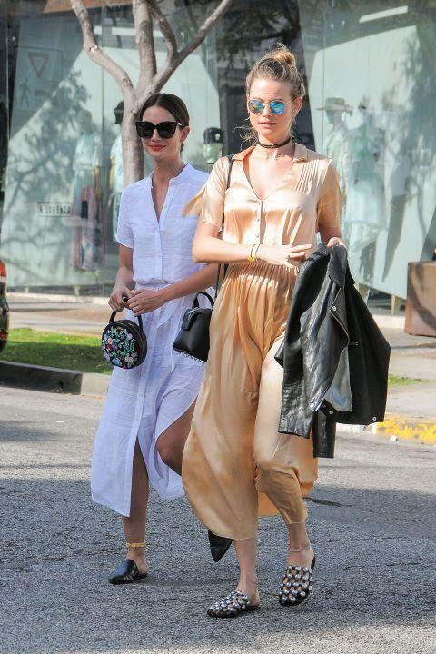 The Victoria's Secret Models' Best Off-Duty Looks