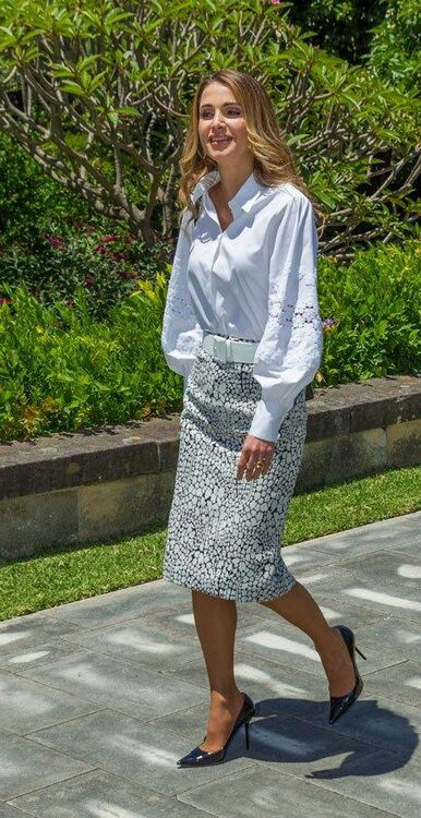 All Of The On Point Outfits Queen Rania Has Worn (So Far) During Her Royal Tour Of Australia