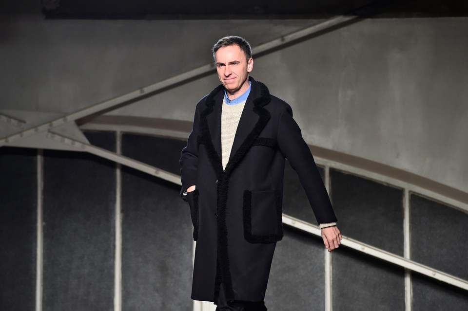 Raf Simons' Debut Date For Calvin Klein Is Revealed