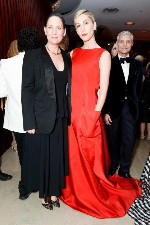 Olivia Palermo, Emmy Rossum & Romee Strijd Honour Carolina Herrera