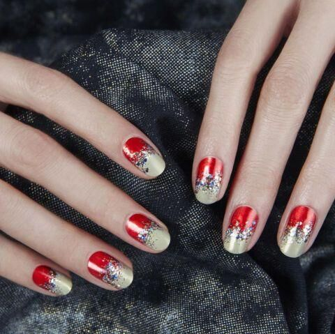 15 Red Nail Art Ideas To Try This Party Season